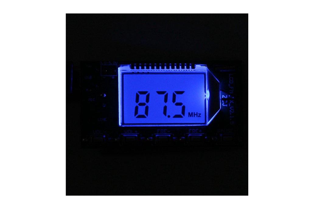 DSP PLL FM Transmitter Module - USB/Aux-In - 100mW 8