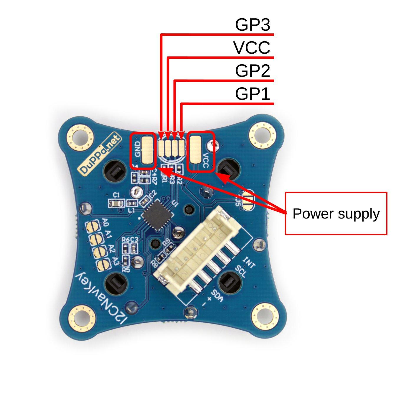 GP pins