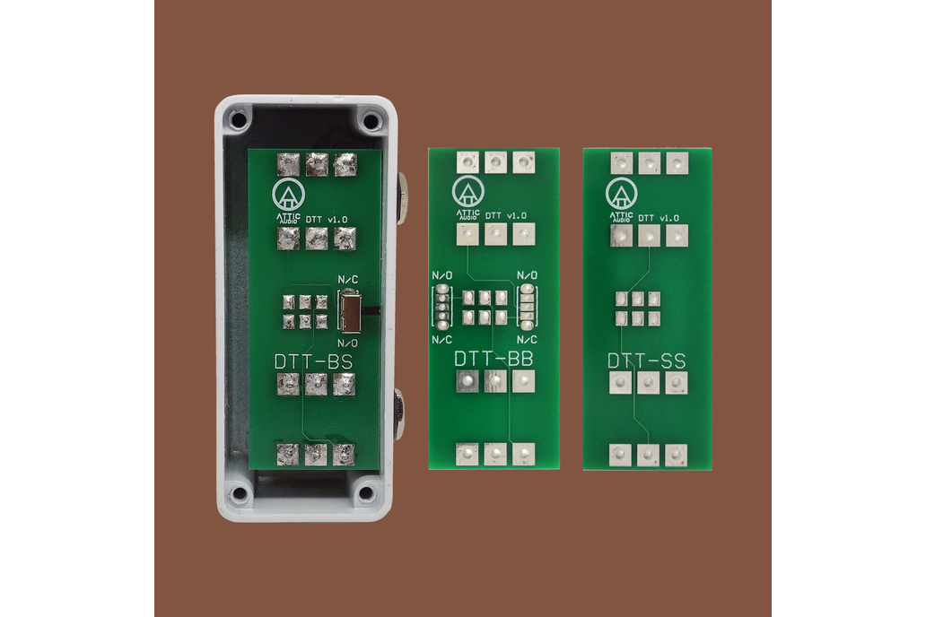 AA - Double Tap Tempo PCB 1