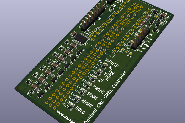 Denford Micro Mill CNC GRBL Control Board V0.0.2