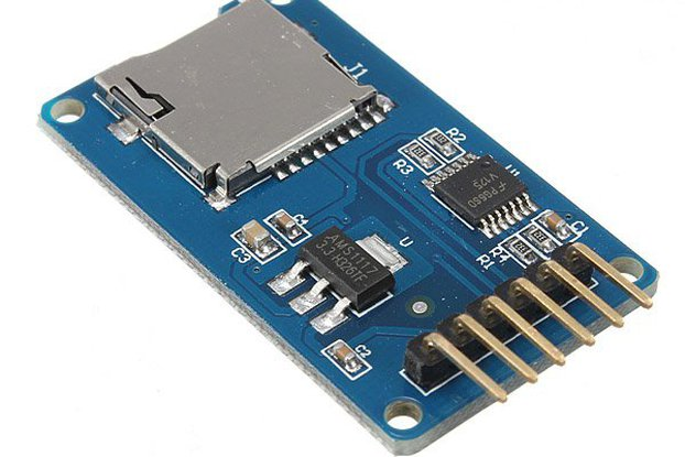 Micro SD card reader module for Arduino