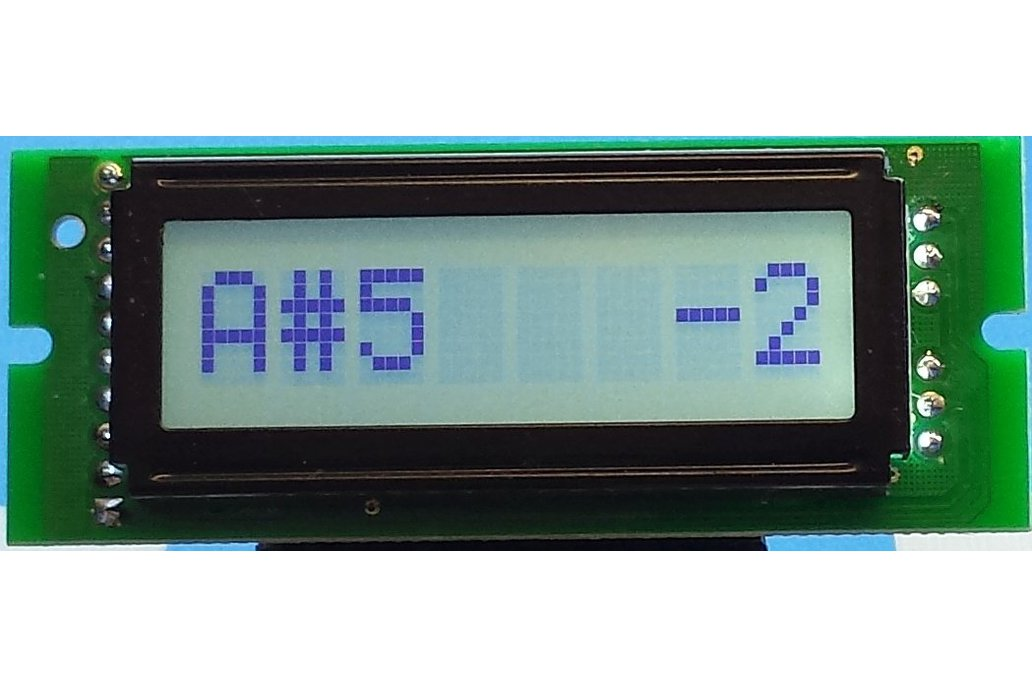 E2063 Chromatic Tuner & Frequency Counter 1
