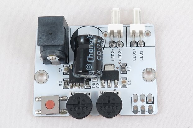 Dual Channel ATTiny85 5A 12V PWM LED Driver