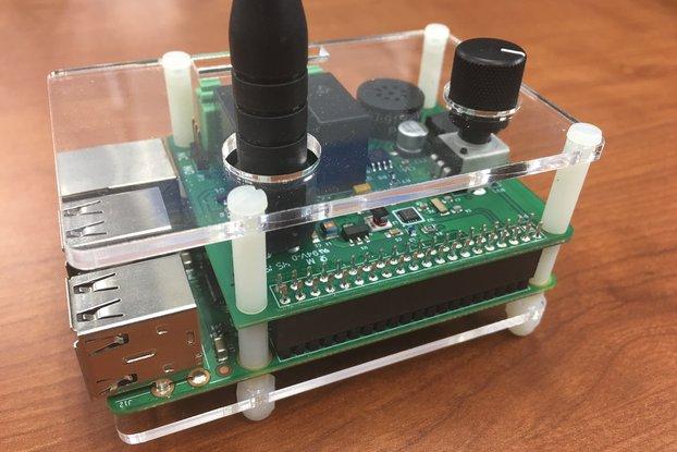 Acrylic Case w/ Standoff Kit