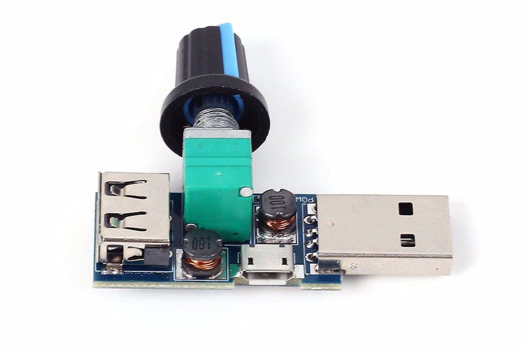 Mini USB Fan Rotary Speed Controller Module(13294) 2