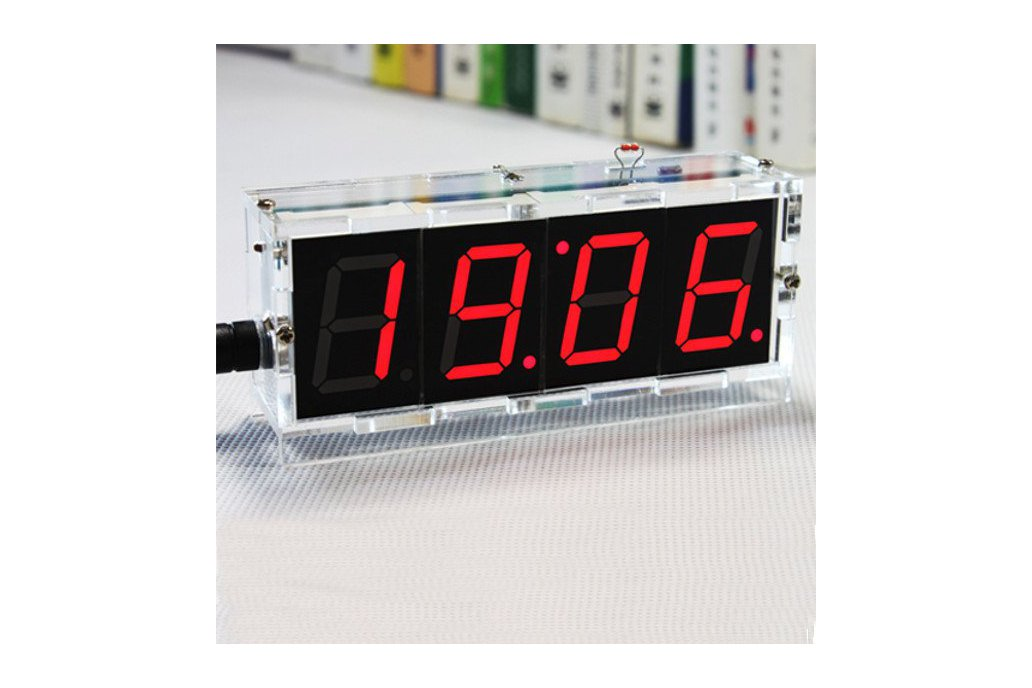 DIY 4 Digit LED Clock and thermometer 3