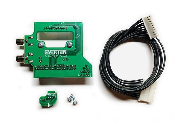 F3 IO Board Stereo + CPS2 Kick [Taito]
