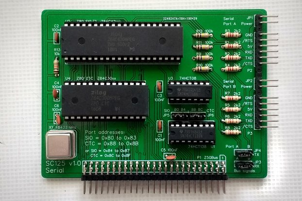 SC125 Serial and Timer Kit for Z50Bus