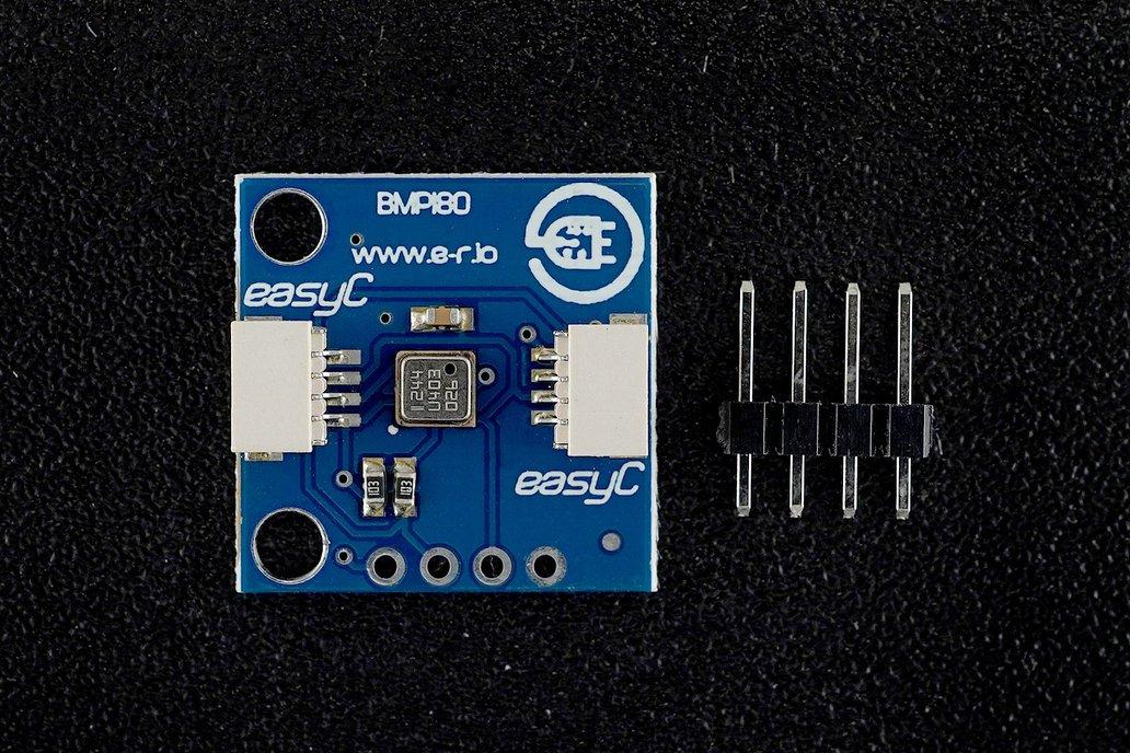 BMP180 temperature and pressure sensor [easyC] 1