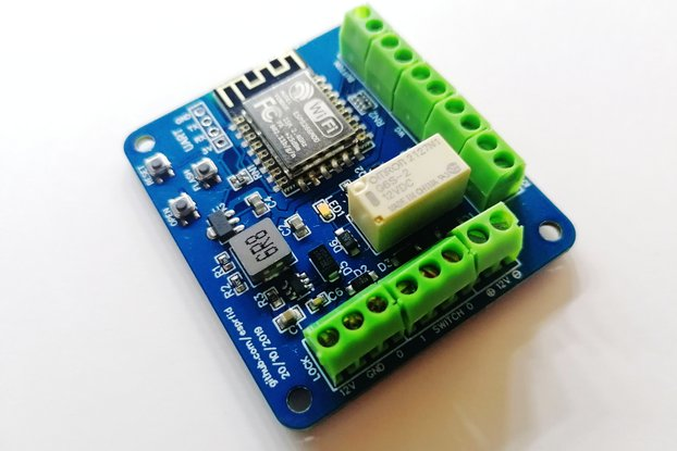 ESP-RFID Relay Blue Board