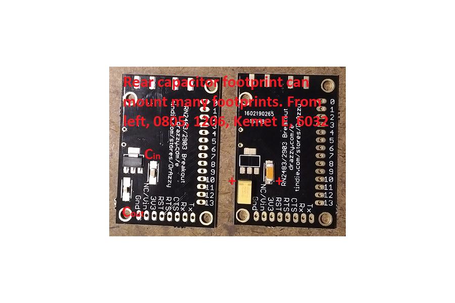 RN2483 breakout (bare board)