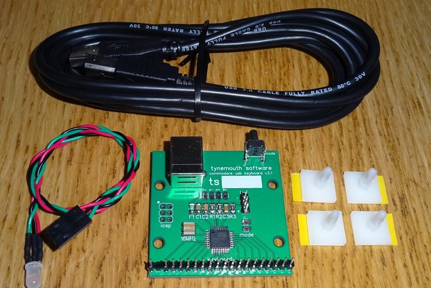 Commodore 64 USB keyboard kit