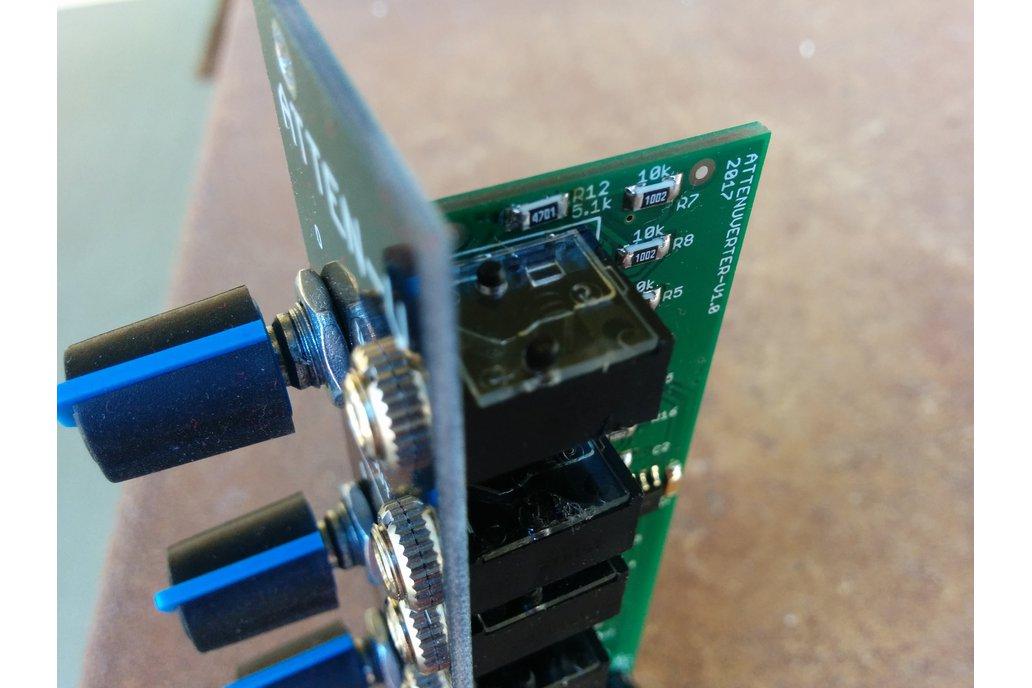 Attenuverter (Eurorack PCB Set) 4