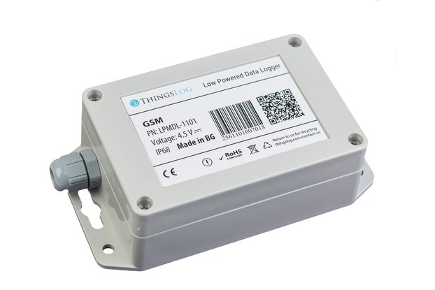 GSM/2G/GPRS low power data logger