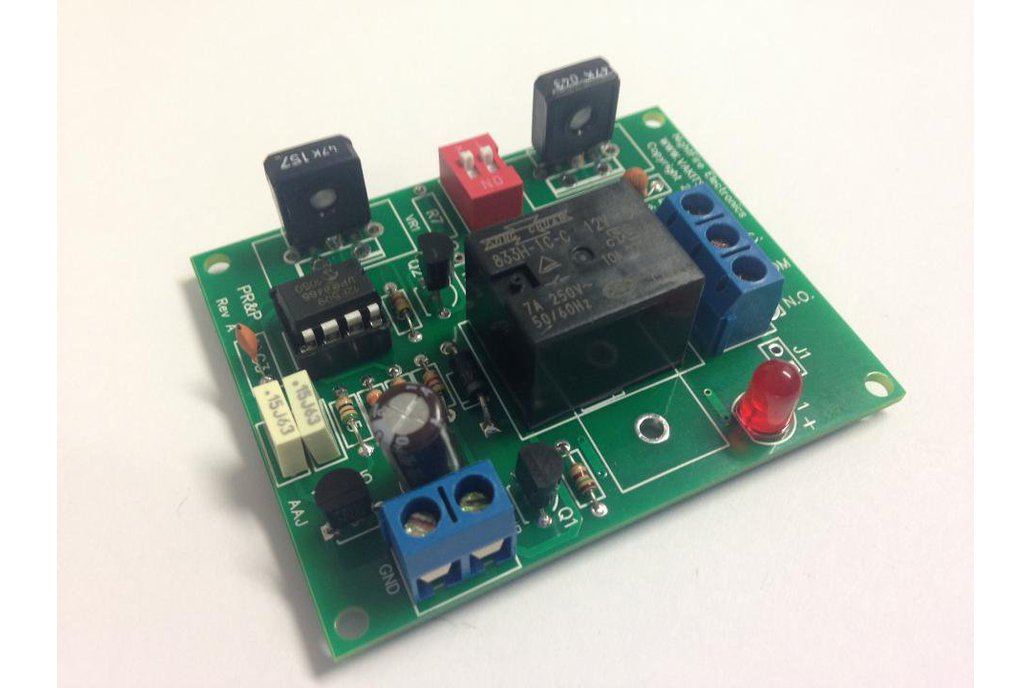 Timer with Adjustable ON & OFF Times, 18v Relay (#5502) 1