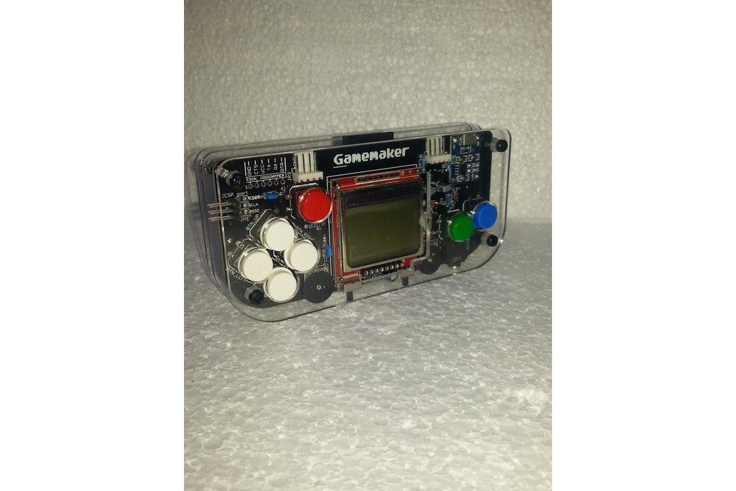 Gamemaker - atmega 328 based 1