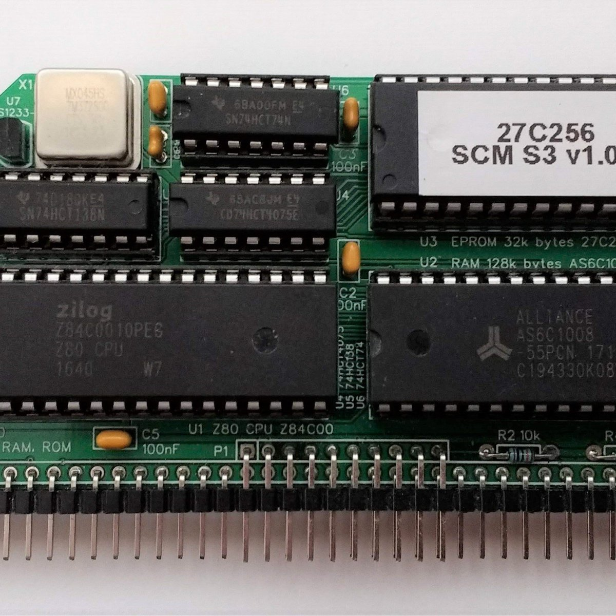 SC108 Z80 Processor Module Kit for RC2014 from Stephen C