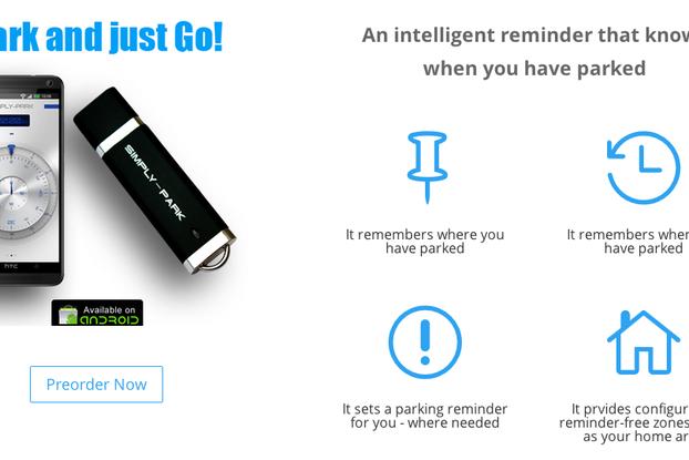Simply-Park  USB Stick