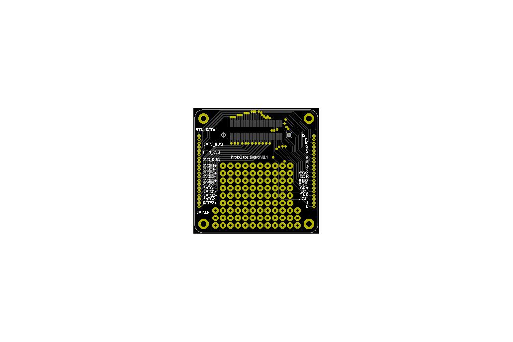ProtoQube - PQ60 PocketQube Breakout Board 2
