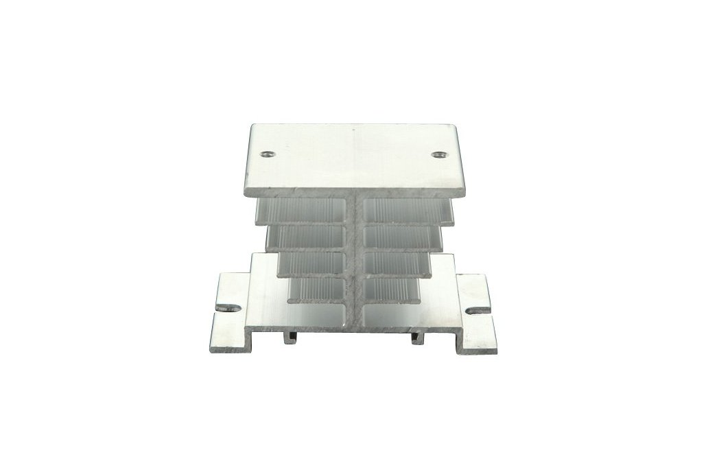 Aluminum Alloy Heat Sink For Solid State Relay SSR 1