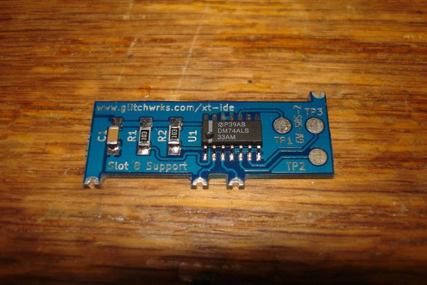 Slot 8 Support for XT-IDE GW-S8S-2 XTIDE