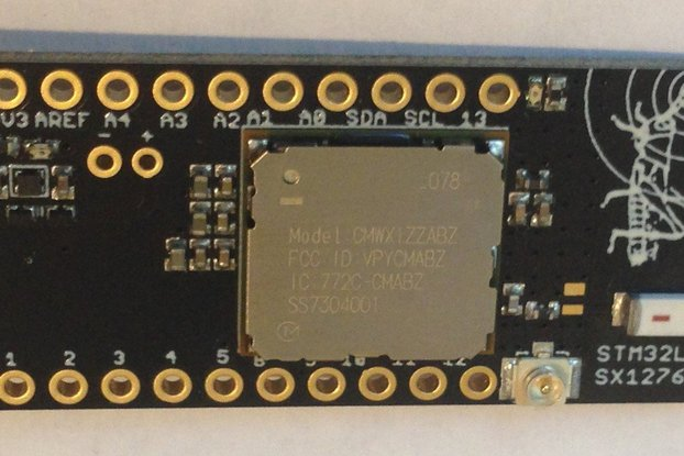 Grasshopper LoRaWAN Development Board