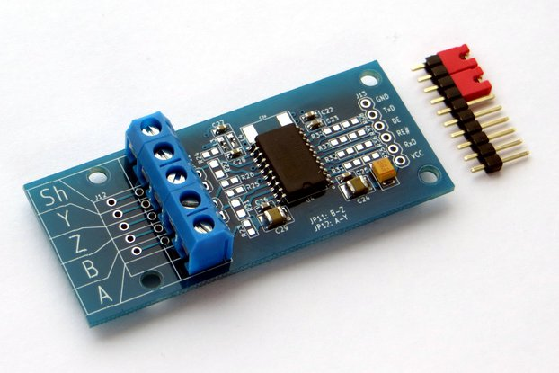 RS-485/RS-422 Isolated Transceiver Breakout