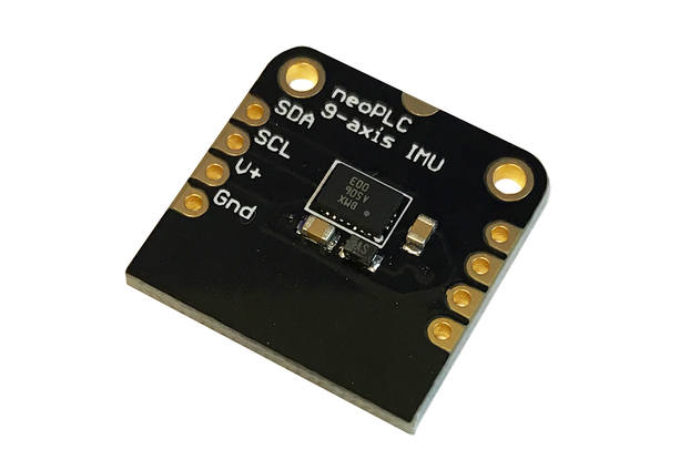 IMU: 9-Axis Bosch Accelerometer + Gyroscope + Mag.