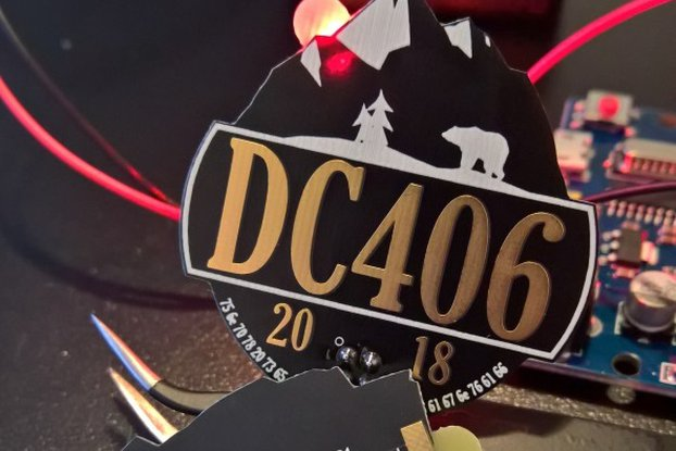 DC406 SAO  #badgelife addon