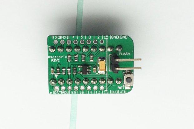 TinyESP ESP8266 Breadboard Adapter