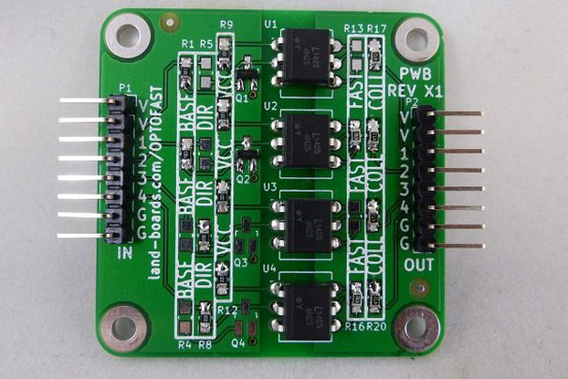 4-Channel Opto-Coupler Card (OPTOFAST)