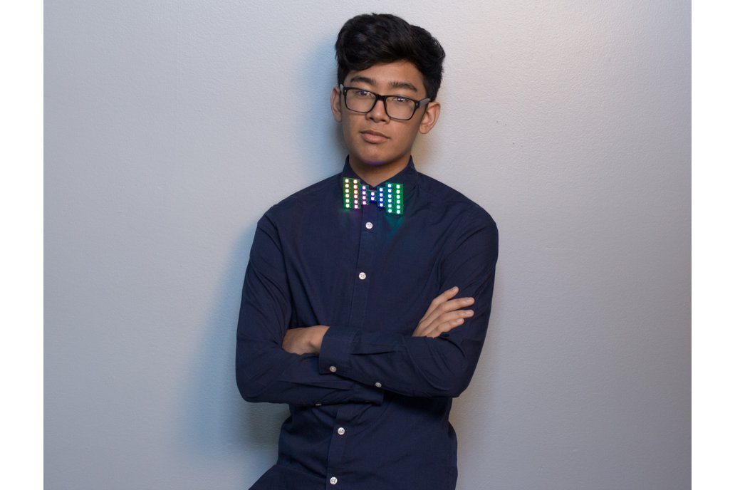Chroma Wear RGB Bow Tie 1