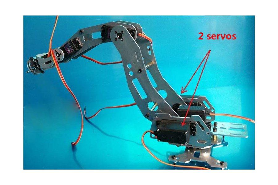 6 DoF Industrial Robot Arm Model