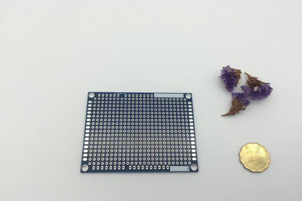Prototype PCB Board with Ground Plane