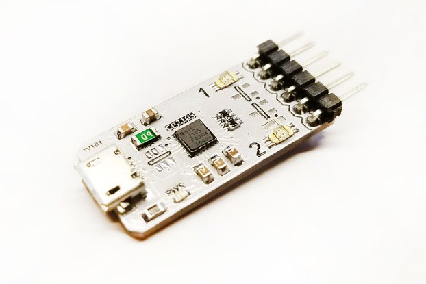 CP2105 Dual USB to UART New Version