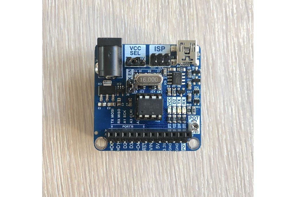 ATtiny Arduino compatible development board 1
