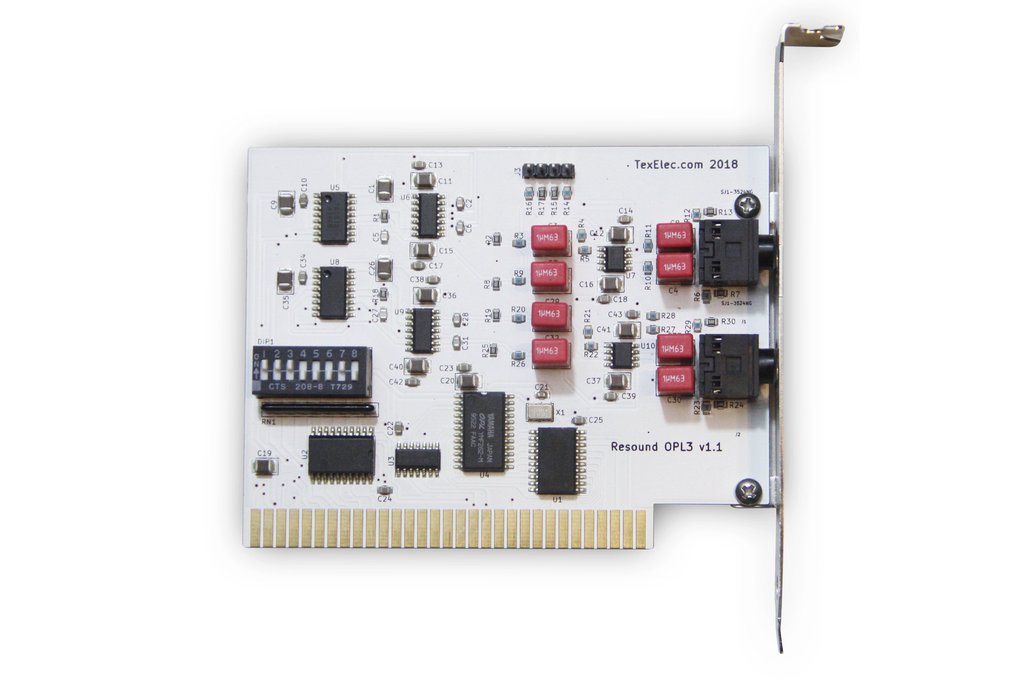 Resound OPL3 – 4 Channel Sound Card 8-Bit ISA 1