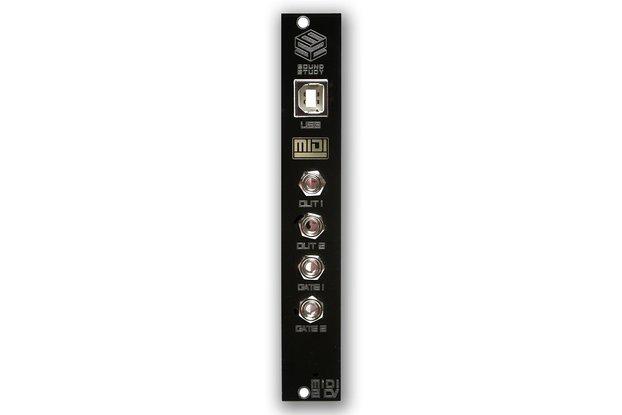 Sound Study MIDI 2 CV - Eurorack
