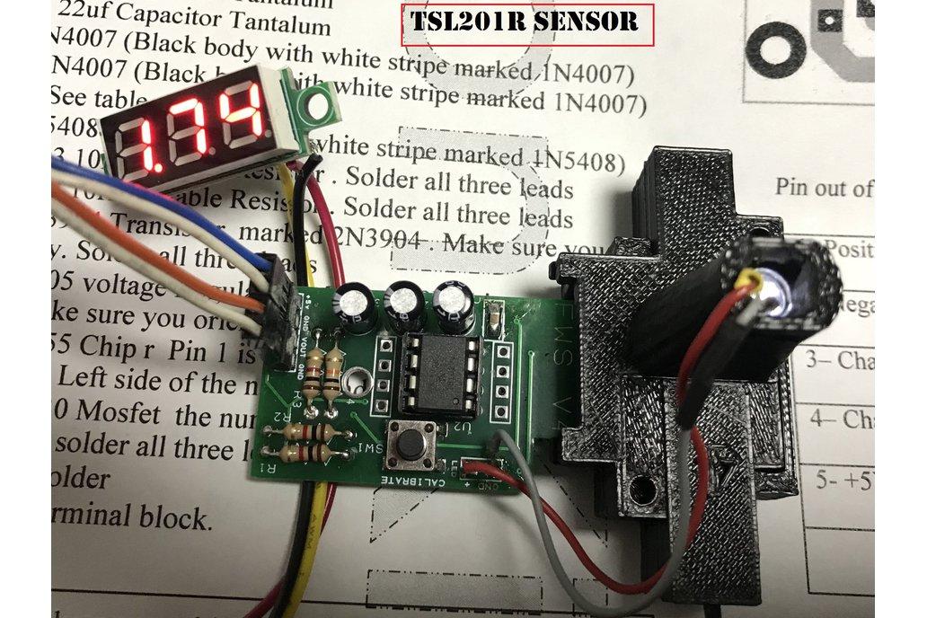 3D Printer TSL201 Filament Width Sensor 1