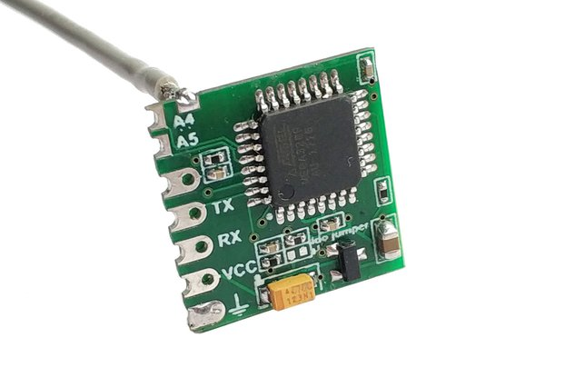 Very compact wireless Arduino board