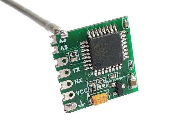 Very compact wireless Arduino board