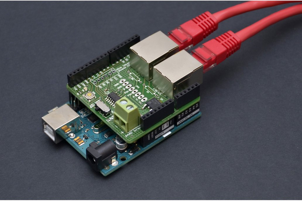 Arduino RS485 Shield (RJ45, bus-powered) 1