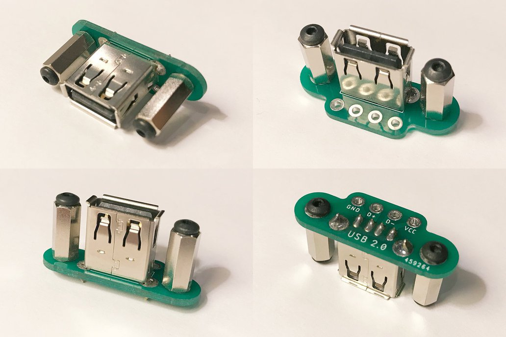 Panel-Mount USB Jacks 1