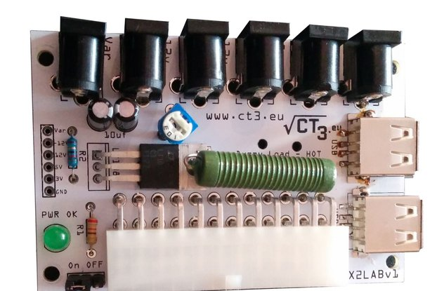 Programmable LABRATORY PSU FROM ATX PSU - KIT
