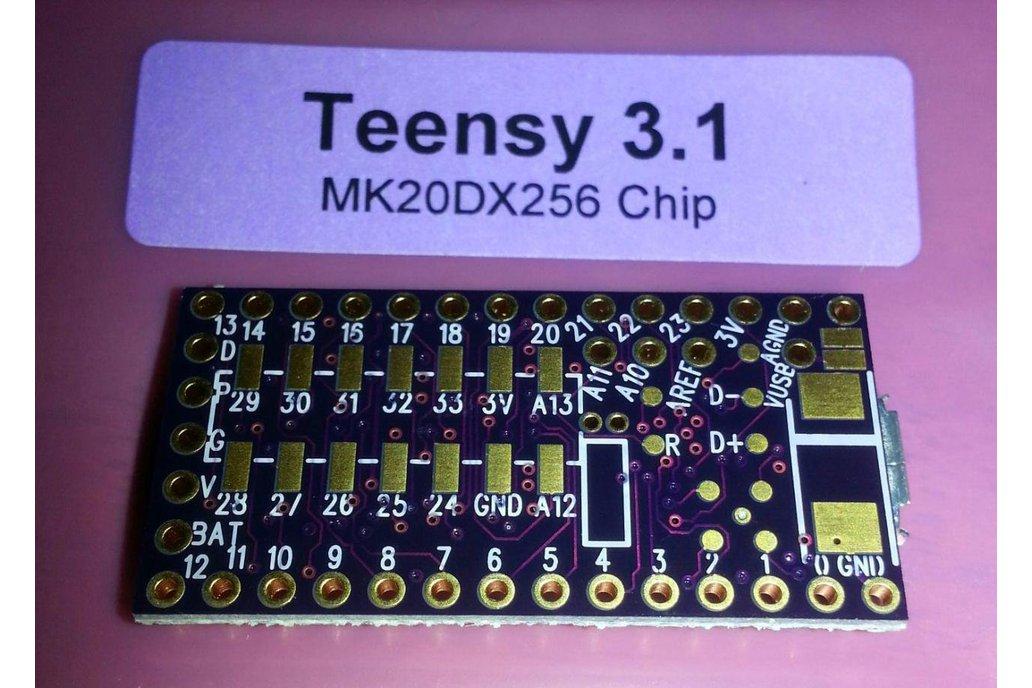 Teensy 3 1 - OSHPark Edition! Purple PCB!