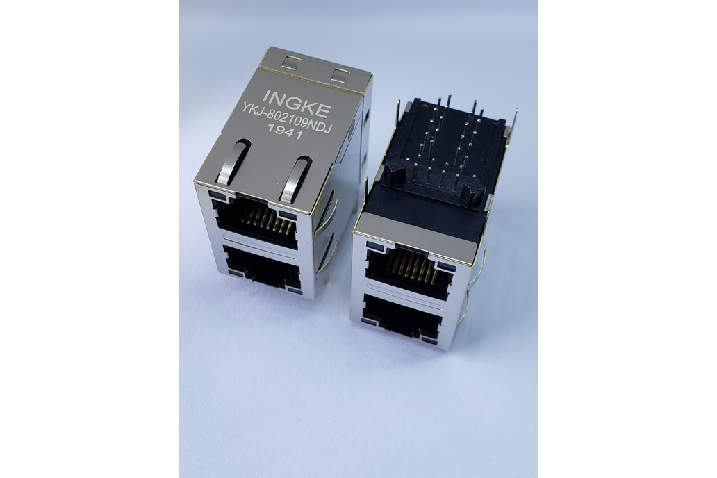 XFATM9-STKVDGY2-4 2 Port 100 BASE-T Magnetic RJ45 1