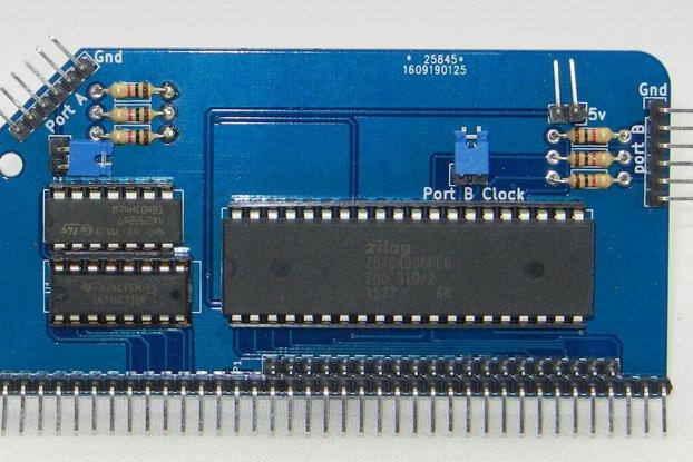 SIO/2 Dual Serial Module for RC2014