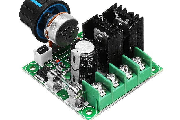 Motor Speed Controller  Module With Knob