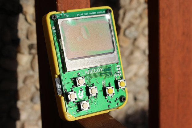 #LAMEBOY - ESP8266 Handheld