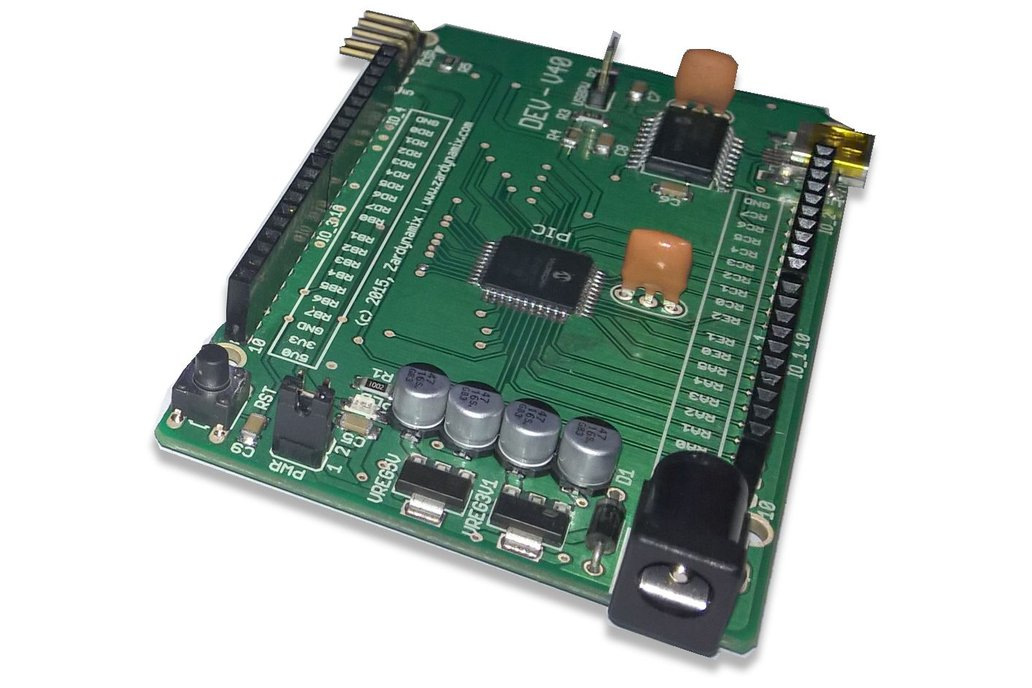 DEVCC - V40 with PIC18F45K22 1